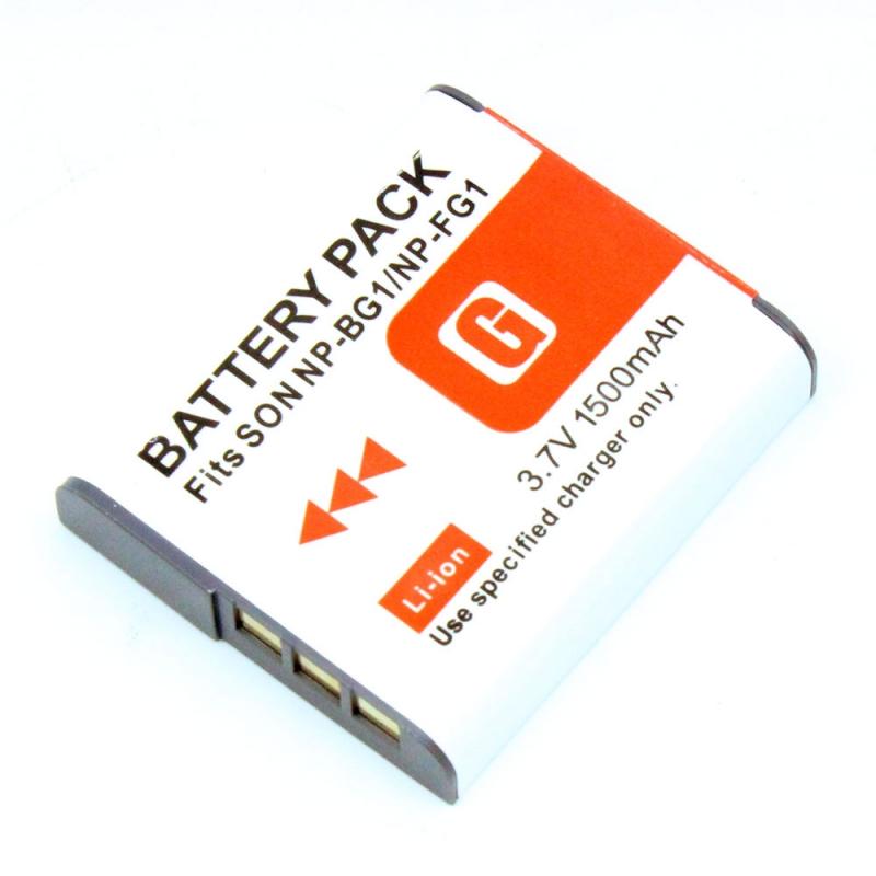 แบตเตอรี่ สำหรับกล้อง Sony รหัส NP-BG1+ ความจุ 1500mAh (Battery Camera) ประกันร้าน 6 เดือน