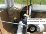 Polyken Tape Pipe Line Coating พีอีเทป เทปพันท่อใต้ดิน ใช้พันท่อน้ำ ท่อดับเพลิง ท่อแก๊ส ท่อทุกชนิดก่