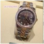 ขาย นาฬิกา Rolex Datejust Black Pearl หน้ามุกดำ Original รุ่นใหม่ หน้าปัดประกายแ