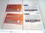 บัตรพื้นผิวด้าน Pvc 0.5 Plastic Card