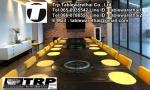 Py.พีวาย ชุด กระจก จานหมุน โต๊ะจีน เลซี่ ซูซาน Lazy Susan LZ24 G120 T200 C14