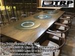 Trp.Lazy Susan ทีอาร์พี.เลซี่ ซูซาน จาน หมุน โต๊ะจีน จานหมุน อลูมีเนียม หรือ ฐานรองหมุน ขนาด 10 นิ้ว