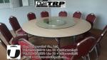 PY พีวาย ชุด กระจก จานหมุน โต๊ะจีน เลซี่ ซูซาน Lazy Susan LZ18 G90 T160 C10