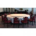 Lazy Susan เลซี ซูซาน จาน หมุน โต๊ะจีน จานหมุน อลูมเนียม หรือ ฐานรองหมุน ขนาด 20