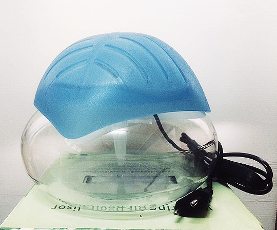 Leaf Shape Water Air Purifier 2L & Blue LED